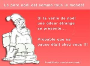 Le Père Noël est comme tous le monde - Blague du père Noël