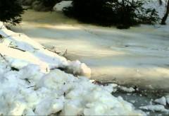 Inondation de Glace – Débordement de rivière – Québec