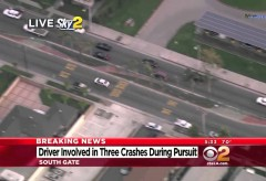 Grand Theft Auto GTA – In real life – Carjacker in Police Pursuit